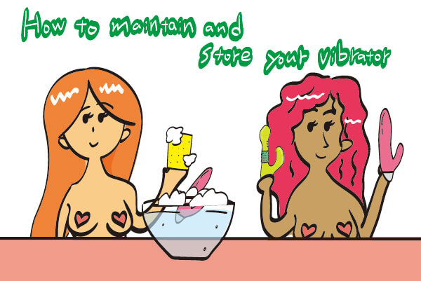 How to maintain and store your vibrator in India