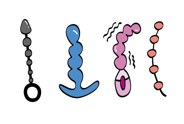 Type of anal beads