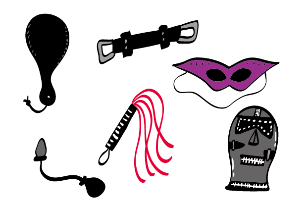 BDSM Types or Gadgets of BDMS
