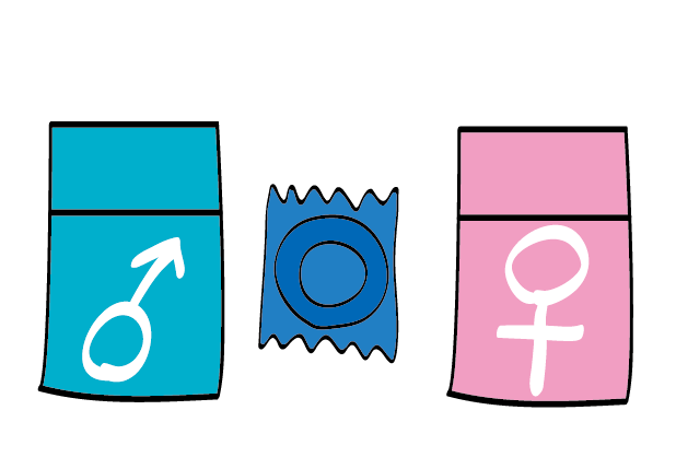 Types of regular condoms