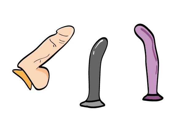 Different types of suction cup dildo?