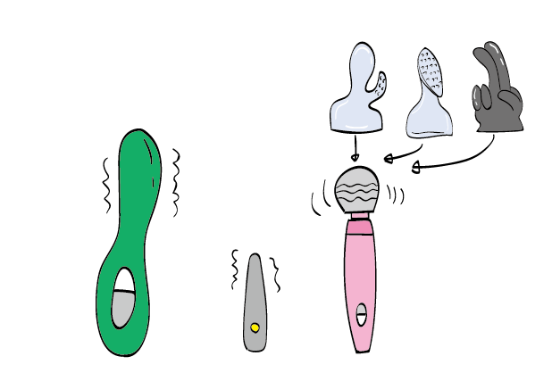 Types of Magic Wand Vibrators