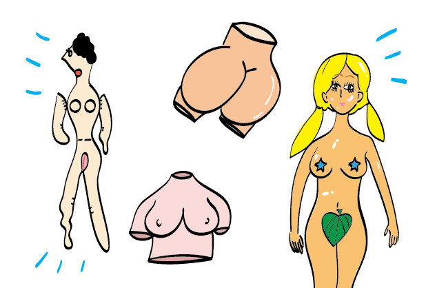 Types of sex doll toys