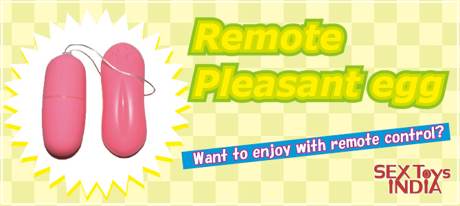 Remote Pleasant egg banner