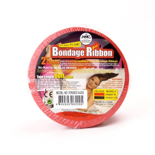 Bondage tape 18m Red