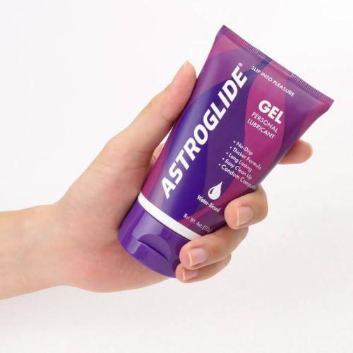 Astroglide gel for anal